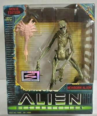 "Hasbro ALIEN RESURRECTION NEWBORN ALIEN 7"" Action Figure Signature 1997 NEW"