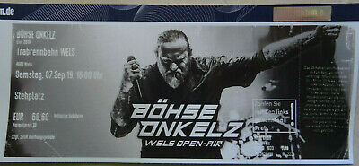 1 Böhse Onkelz Ticket in Wels Open Air 07.09.2019 Original von Eventim
