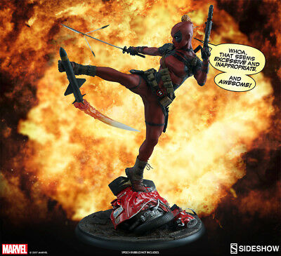 SIDESHOW Lady Deadpool Premium Format Figure Statue NEW SEALED