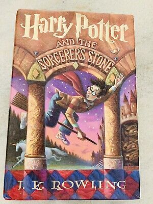 1998 Harry Potter and the Sorcerer's Stone 1ST American Edition Hardcover DJ