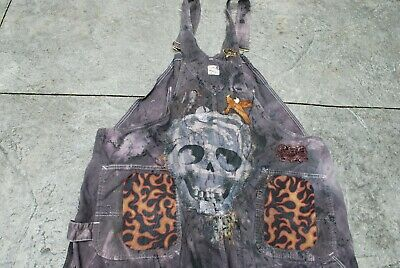 Vintage 90s Social Distortion Punk Rock Overalls T Shirt Mysterious Bozo Grunge