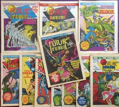 Future Tense 11 x issues including #1. (Marvel UK 1980) Bronze Age.