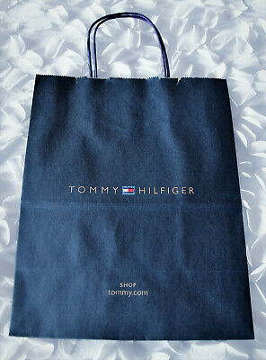 san francisco discount shop save up to 80% TOMMY HILFIGER PAPER SHOPPING BAG - NEW - APPROX 25cm x 20cm ...