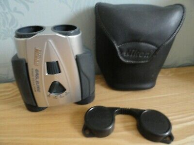 VGC Nikon Eagleview Binoculars + Case 8-24x25 4.6° at 8x Zoom