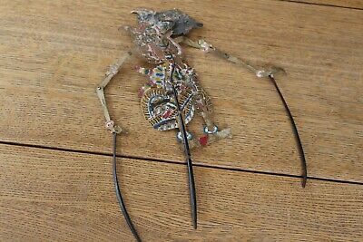 ORIGINAL VINTAGE WAYANG KULIT (shadow puppet) From Java Indonesia