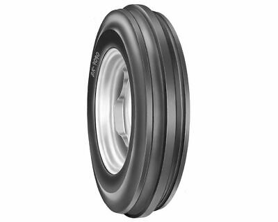 Pr of 6.00-16,6.00x16 3 Rib BKT 6Ply Tractor Front tyres & Tubes to suit mf 135
