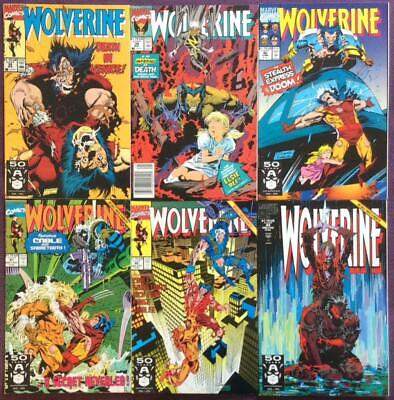 Wolverine #38 to #43 (Marvel 1991) 6 x issues.