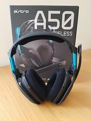 ASTRO Gaming A50 Wireless Headset Dolby 7.1 Surround Sound PS4/PC/MAC