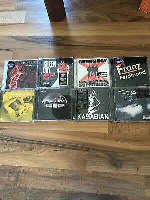 Bundle Of 8 Rock/Indie CDs:Green Day, Oasis, Kasabian, Maroon 5, Franz Ferdinand