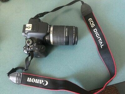 Canon EOS Rebel T5i 18.0MP Digital SLR Camera (black) with lots of extras