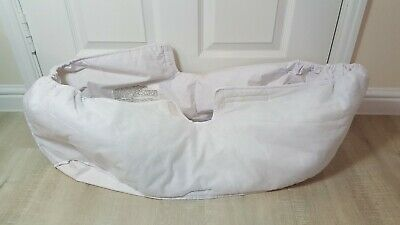 iCandy Cherry Carrycot / Bassinet liner fabrics only white