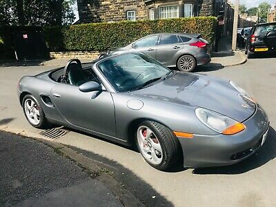 Porsche Boxster S 3.2 - 986 Black Leather Seal Grey 6 Speed Manual