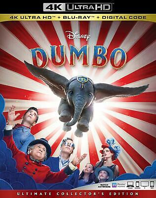 Dumbo $K Ultra HD +Blu-ray +Digital Code With slipcover  Brand New