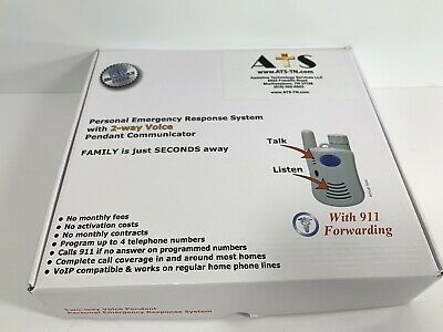ATS Personal Emergency Response System: 2-way communication works as a phone