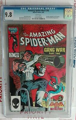 Amazing Spider-Man #285 Cgc 9.8 Mike Zeck Punisher Cover Black Costume