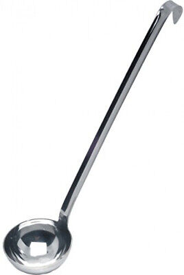 Genware NEV-62707 One Piece Ladle, Stainless Steel, 75 mL, 7 cm