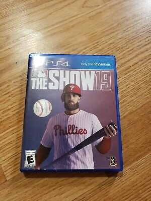 MLB 19: The Show (PS4 / PlayStation 4) MINT Region Free FAST FREE SHIPPING