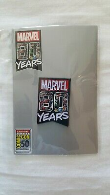 Toynk SDCC 2019 Exclusive Marvel 80 Pin