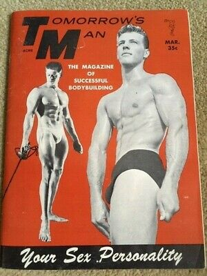 Vintage March 1959 Tomorrow's Man Physique Photo Male Magazine Vol. 7 No. 4