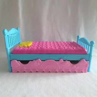 NEW Mattel Barbie Club Chelsea Little Sister Doll House Trundle Bed ~ Furniture