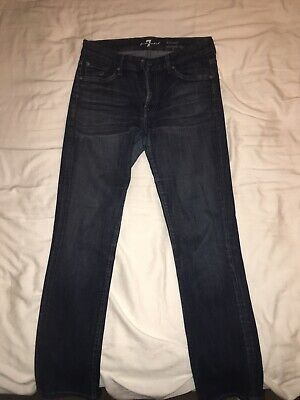 7 For All Mankind Kimmie Straight Leg Denim Jeans NWT Women's Size 30