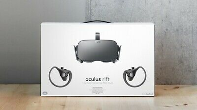 Oculus Rift CV1 VR Headset with Controllers and 2 sensors