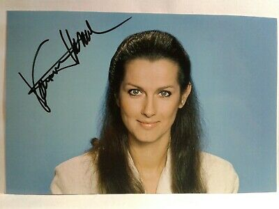 VERONICA HAMEL Authentic Hand Signed Autograph 4X6 Photo - SEXY ACTRESS