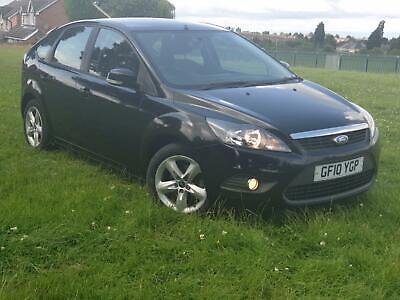 Ford Focus zetec 1.6 petrol 2010 5 door manual car mot till 2020