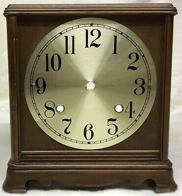 Wooden Clock Case With Dial