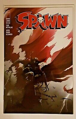 SPAWN #289 FAN EXPO CANADA Francesco Mattina Trade Dress + Virgin Variant Set NM