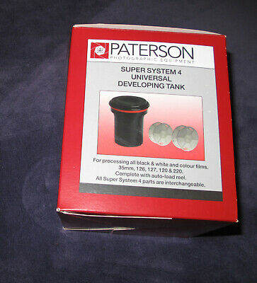 Paterson Super system 4 film negative developing tank