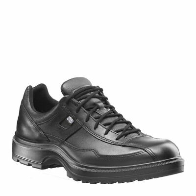 HAIX AIRPOWER C7 100304 Men's Black Leather Police Shoes Size 7 W MSRP- $140