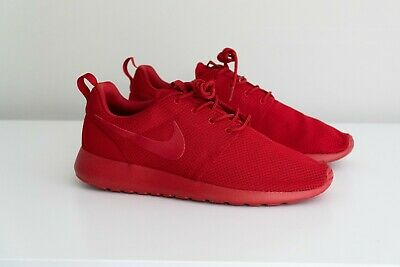 the latest 9a3bd b3d1c NIKE ROSHE ONE Varsity Triple Red size 10.5 511881-666