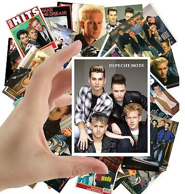 """DEPECHE MODE Large Stickers (24 stickers 2.5""""x3.5"""" each) Photo Poster S-5006"""