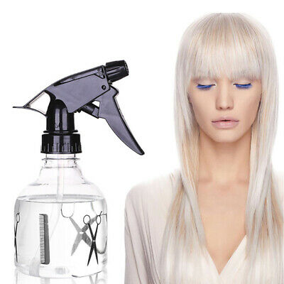 Portable Plastic Spray Transparent Water Mist Sprayer Bottles Hair Hairdressing
