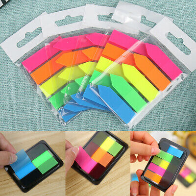 Adhesive Memo Pad Sticky Notes Bookmark Sticker Point It Marker 1Set Students