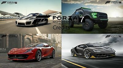 Forza Motorsport 7 999.999.999 Credits 999M Credits for Xbox One and PC