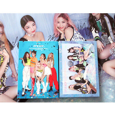 Signed ITZY autographed 1st MINI album IT`Z ICY