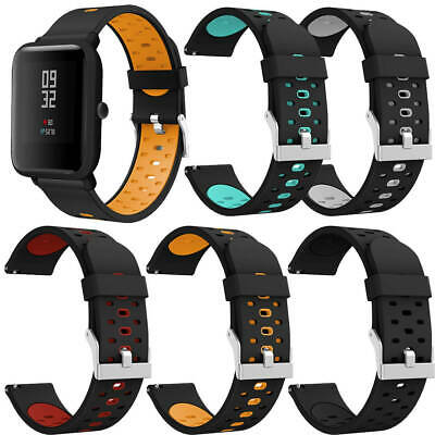New For Xiaomi Huami Amazfit Bip Youth Soft Silicone Strap Wrist Watch Band IT