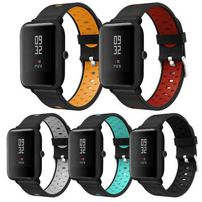 New For Xiaomi Huami Amazfit Bip Youth Soft Silicone Strap Wrist Watch Band ES