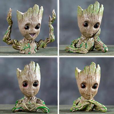Guardians of The Galaxy Baby Groot planter Pen Flowerpot / Tree Man Baby Gift