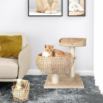 Kitten Cat Tree Tower Pet Play House Scratch Post Condo Scratching Furniture