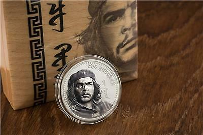 2018 0.5g PROOF Gold Mongolia 1000 Togrog CHE GUEVARA Coin.