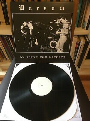 Joy Division Vinyl Warsaw An Ideal For Killing Galaor Records (2002)