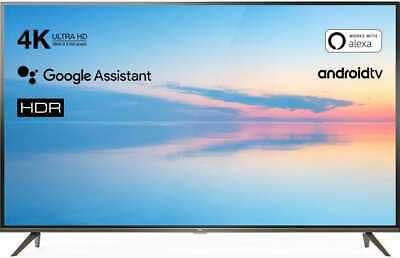 TCL Smart TV 4K 65 pollici Televisore LED UHD Android TV T2 S2 Wifi HDR 65EP640