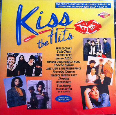 Kiss The Hits - Various / CD 1993 NM GREECE - 18 Hits Of '93 Europop Dance