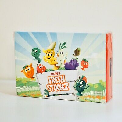 Coles Fresh Stikeez Collectables Folder (CASE ONLY) - Brand New, Limited Edition