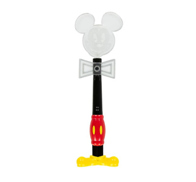 Disney Parks Mickey Mouse Mickey's Light Up Spinning Glow Bow Wand