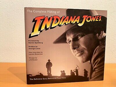 The Complete Making of Indiana Jones: The Definitive Story Behind All HARDCOVER