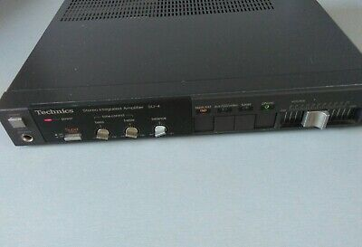 Technics Su-4 Stereo Integrated Amplifier Amp Direct Connector